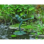 Leaping Frog Fountain