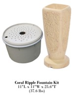 Coral Ripple Fountain Kit