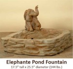 Elephante Pond Fountain