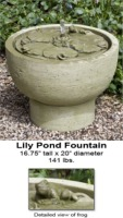 Lily Pond Fountain