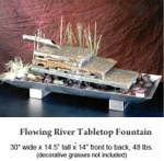 Flowing River Tabletop Fountain