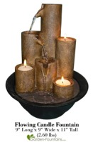 Flowing Candle Fountain