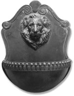 Donetello Lion Wall Water Fountain
