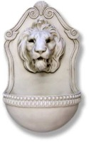 Aged Lion Wall Water Fountain