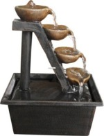 Four Tiered Step Tabletop Water Fountain
